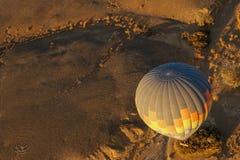 Hot Air Balloon Sunrise royalty free stock photo