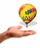 Hot Air Balloon. Royalty Free Stock Photo