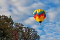 Hot Air Balloon Over Letchworth Royalty Free Stock Images