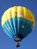Hot Air Balloon Pond Stock Photo