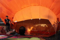 Hot Air Balloon Putrajaya Stock Images