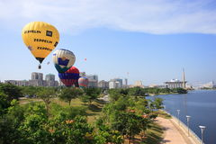 Hot Air Balloon Putrajaya Stock Image