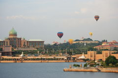 Hot Air Balloon Putrajaya Stock Photos
