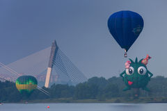 Hot Air Balloon Putrajaya Stock Images