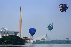 Hot Air Balloon Putrajaya Royalty Free Stock Photo