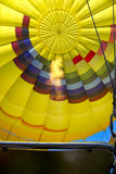 Hot Air Balloon Ready to Rise Stock Image