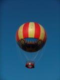 Hot air balloon. Retro hot air balloon over Disneyland in Paris Stock Images