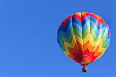 Hot Air Balloon Ride Stock Photo