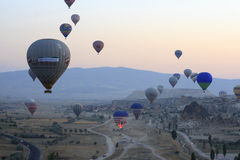 Hot Air Balloon Ride, Cappadocia Stock Image