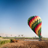 Hot Air Balloon ride, Egypt Stock Photography