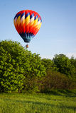 Hot Air Balloon Ride Royalty Free Stock Photography