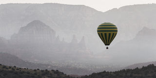 Hot air balloon ride in Sedona Royalty Free Stock Photography