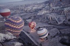 Hot air balloon tour in Cappadocia2