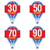 Hot Air Balloon Sale Royalty Free Stock Photos