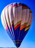 Hot Air Balloon. Set sail on a travel adventure with this up close view of a hot air balloon stock photos