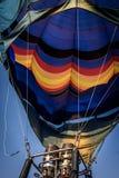 Hot air balloon. A shot of a colorful hot air balloon Royalty Free Stock Image
