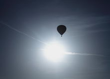 Hot Air Balloon Silhouette Stock Images