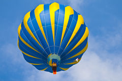 Hot Air Balloon in  sky Stock Images