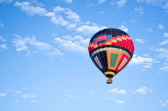 Hot-air balloon in the sky Stock Photography