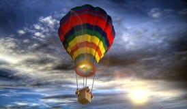 Hot Air Balloon, Sky, Hot Air Ballooning, Cloud Stock Photos