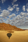 Hot Air Balloon - Sossusvlei - Namibia Stock Photo