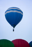 Hot Air Balloon on Summer Day Stock Image