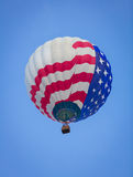 Hot Air Balloon on Summer Day Royalty Free Stock Photos