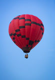 Hot Air Balloon on Summer Day Royalty Free Stock Photography