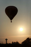 Hot air balloon take off Stock Photography