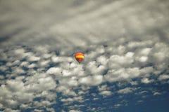 Hot air balloon. Taken from a hot air balloon basket. Napa, California stock photography