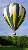 Hot air balloon taking of in Amboise Royalty Free Stock Photo