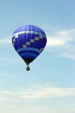 Hot air balloon tethered to ground Royalty Free Stock Photos