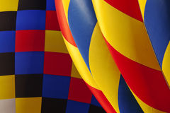 Hot air balloon texture Royalty Free Stock Images