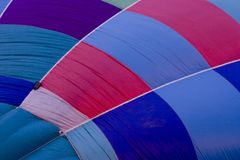 Hot air balloon textures Royalty Free Stock Image