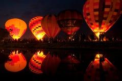 Hot air balloon in Thailand International Balloon Festival 2009. Stock Images