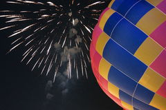Hot air balloon. Thailand International Balloon Festival at Payap University Chiang mai , Thailand stock photography