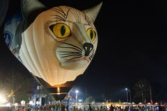 Hot air balloon. Thailand International Balloon Festival at Payap University Chiang mai , Thailand stock images