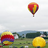 Hot air balloon three Royalty Free Stock Photo
