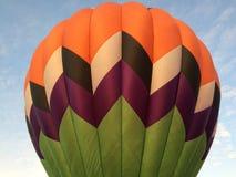 Hot Air Balloon. The top section of a Hot Air Balloon Envelope Royalty Free Stock Photos