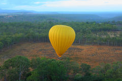 Hot air balloon tour Royalty Free Stock Photography