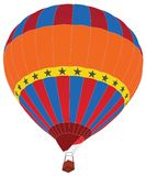 Hot Air Balloon for Transportation Concept. Royalty Free Stock Image
