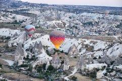 Hot Air Balloon in Turkey. Hot Air Balloon in Cappadocia Stock Image