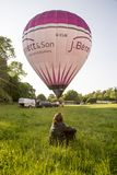 Hot air balloon - Buckinghamshire UK Stock Photos