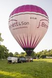 Hot air balloon - Buckinghamshire UK Royalty Free Stock Images