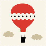 Hot-air balloon Vector Illustration Royalty Free Stock Photography