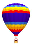 Hot Air Balloon on White Royalty Free Stock Images