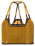 Hot Air Balloon Wicker Basket Gondola Isolated
