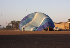 Hot air ballooning Stock Images