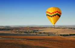 Hot Air Ballooning Royalty Free Stock Photography