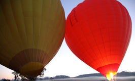 Hot Air Ballooning Royalty Free Stock Photo